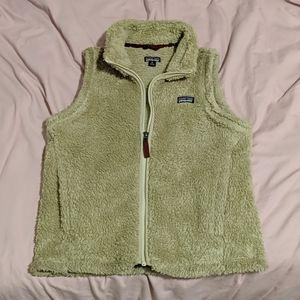 Warm fuzzy vest